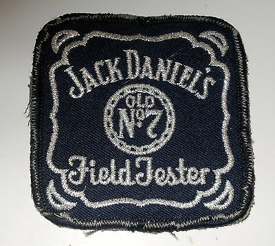 """Jack Daniels Patch Embroidered 3 inches  Vintage  """"old No. 7 Field Tester"""""""