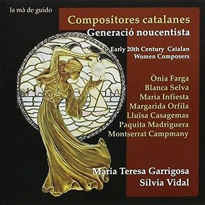 Early 20th Century Catalan Women Composers - Maria Teresa / Vid (2015, CD NUEVO)