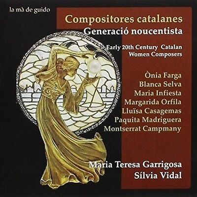 Early 20th Century Catalan Women Composers - Maria Teresa / Vid (2015, CD NUOVO)