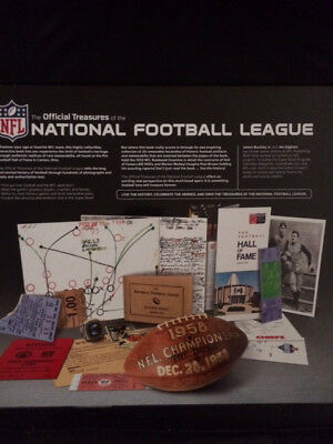NFL American Football Official Treasures of the National Football League Book