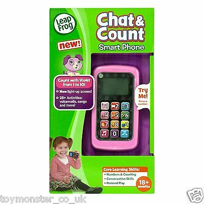 LeapFrog Chat and Count Phone Violet