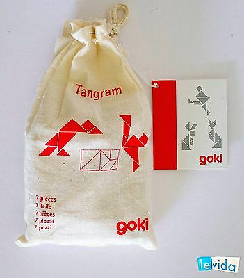 Tangram, Wooden Puzzle by Goki (HS008)