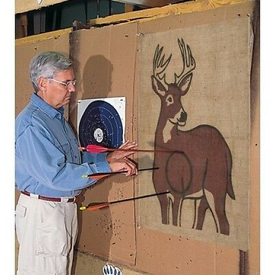 Allen Archery target cover 40 x 27  inch face whitetail deer burlap bow hunting