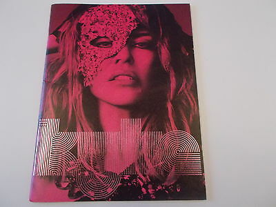Kylie North American Concert Programme 2009