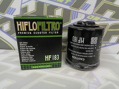 NEW Hiflo Oil Filter HF183 for Gilera 125 Nexus / Nexus i.e. 2007-2015
