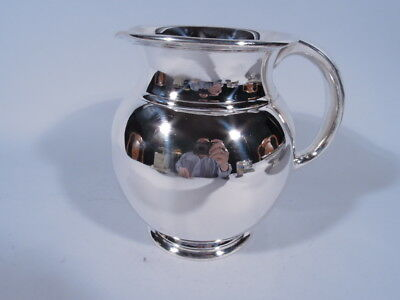 Cartier Water Pitcher - E76 - Midcentury Modern - American Sterling Silver