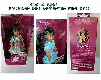New American Girl Samantha ™ 2016 Special Edition Mini Doll, Stand & Book