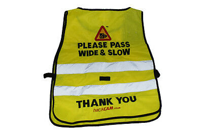 Hack Cam Tabard Please Pass Wide & Slow - Rider Safety Wear