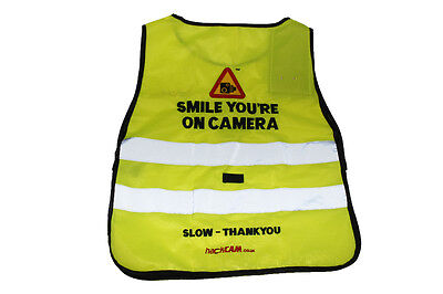 Hack Cam Tabard Smile You'Re On Camera - Rider Safety Wear