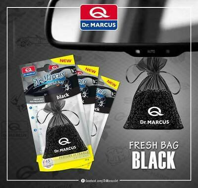Dr.Marcus Hanging Fresh Bag Car Air Freshener Perfume Black