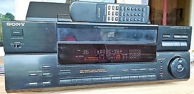 Sony Compact Disc Player Cdp-Cx151 100 Disc Cd Changer With Remote Rare