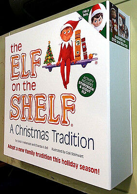 Elf on the Shelf: A Christmas Tradition Blue Eyed Boy Scout Elf & Storybook