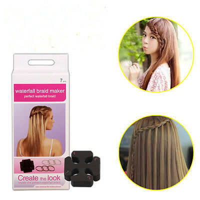 Fashion Women DIY Hair Waterfall Braid Maker Styling Tool