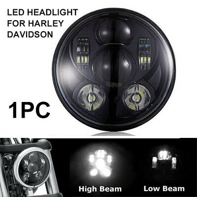 1PC 5 3/4 5.75 Inch 40W Daymaker Projector LED Headlight for Harley Davidson...