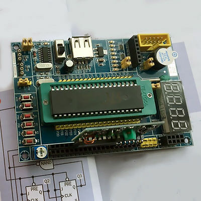 High Quality Yes For AVR STC51 STC89C52RC AT89S52 Development Learning Board Kit