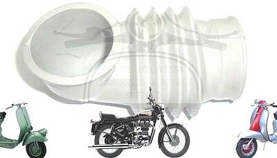 Lambretta Gp Dl Carburettor Air Hose Pipe Grey @uk