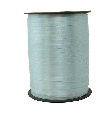 Gift Ribbon light blue 10mm x 250m Polyband ribbon Ring tape