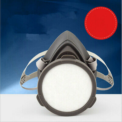 NEW 3M 3200 Half Face Gas Mask Respirator Filter safety Painting Spraying 1 Set