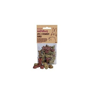 Rosewood Naturals Apple, Strawberry & Spinach Bunnies 100g