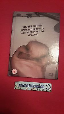 Rubber Johnny By Chris Cunnincham 42 Page Book And Dvd Wf003Dvd / Livre + Dvd