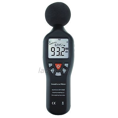 High Accuracy Compact Professional Sound Level Meter Measuring Range 30dB-130dB