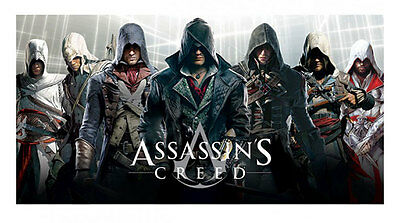 Handtuch Assassins Creed Altair Connor Arno Jacob Edward Ezio Badetuch