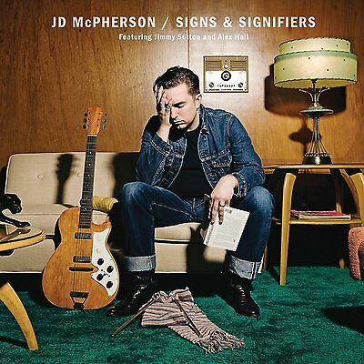 JD McPHERSON : SIGNS & SIGNIFIERS  ( LP Vinyl) sealed