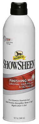 Absorbine Showsheen Finishing Mist - 444ml - Showing