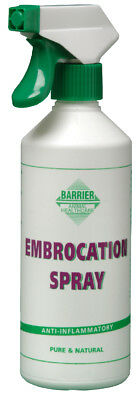 Barrier Embrocation Spray - 500ml - Horse Leg & Muscle Care