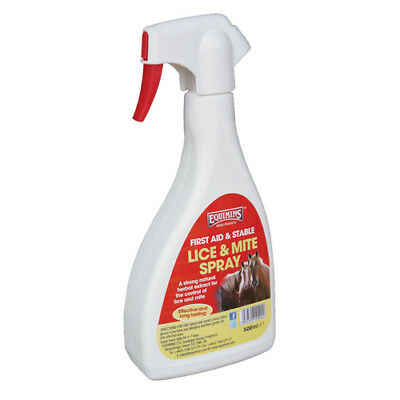 Equimins Lice & Mite Spray - 500ml - Fly, Louse & Insect Control