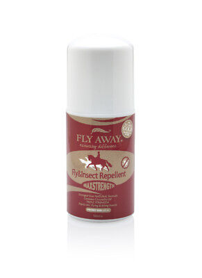 Fly Away Max Strength Roll-On - 50ml - Fly, Louse & Insect Control