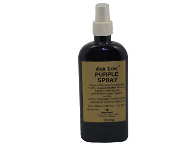 Gold Label Purple Spray - 250ml - Horse Care & First Aid