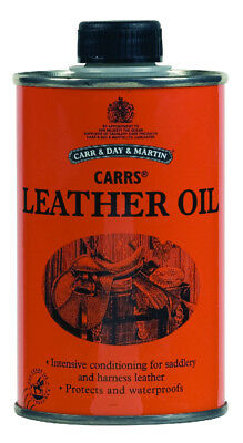 Carr Day & Martin Leather Oil - 300ml Intense Neatsfoot Alternative Treatment