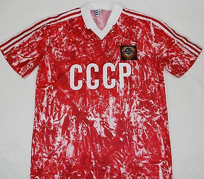 1989-1991 Russia/ussr/cccp Adidas Home Football Shirt (Size M)