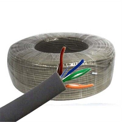 400FT CAT 5E Bulk OUTDOOR Solid Copper 24AWG wire