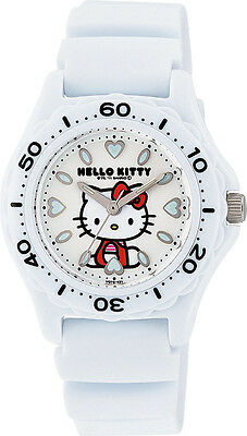 Hello Kitty Wrist Watch Waterproof White VQ75-431 ❤ CITIZEN Q&Q Japan Sanrio