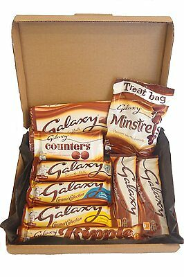 Galaxy Ultimate Chocolate Selection Gift Box - Including Ripple, Counters, Hot