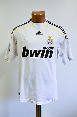 Size S Real Madrid Spain 2009/2010 Home Football Shirt Jersey Adidas Raul Era