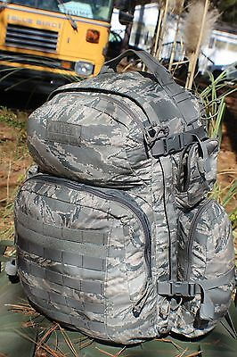 Large Camelbak Maximum Gear Abu Molle Pack Hydrate Or Die W/ Bladder Used Ln Con