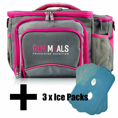 Fearless Meal Prep Bag ONLY UK Six Pack Iso Fitness Lunch Cooler | Gym Meals LDN