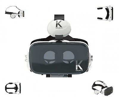 New Keplar VR Immersion Goggles - Smartphone Virtual Reality VR Headset UK Stock