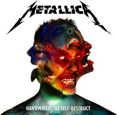Hardwired: To Self-Destruct - 2 DISC SET - Metallica (2016, CD NUOVO)