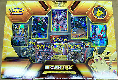 Pokemon Pikachu EX Legendary Collection Sealed Box NIB includes 5 packs