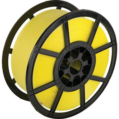 12mm x 1000m Yellow Hand Pallet Strapping Banding Coil - 310kg
