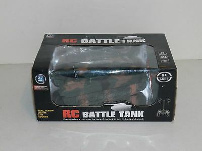 RC Battle Tank with  Real Action Lights and Sounds