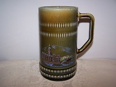 Large Wade Irish Porcelain Mug / Stein / Tankard - Houses Parliament And Big Ben