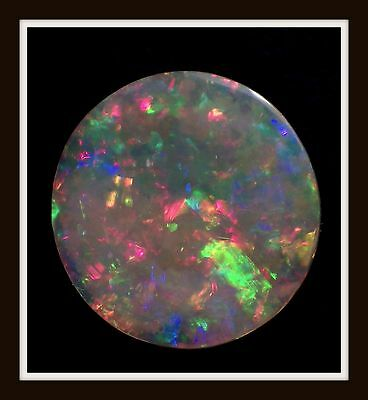 2.45ct Solid GREAT COLOUR Mintabie Opal