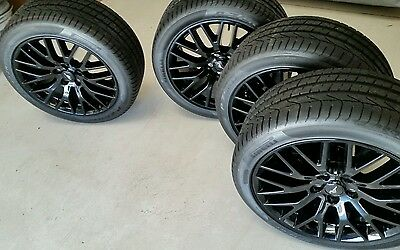 2016 Ford Mustang wheels 19 inch wheels and tyres