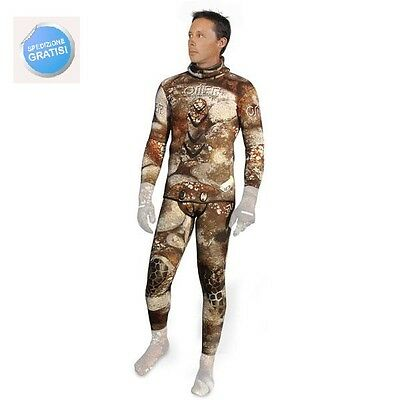 Wetsuit Omer Camu 3D 7 Mm T.t.iii°