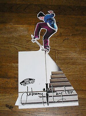 Johnny Layton Vans Off The Wall Poster Scate Boarder Poster